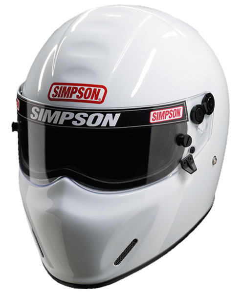 Large photo of Simpson  X Bandit Helmet, Snell SA2010 Approved, Pegasus Part No. SIMP426-Size-Color