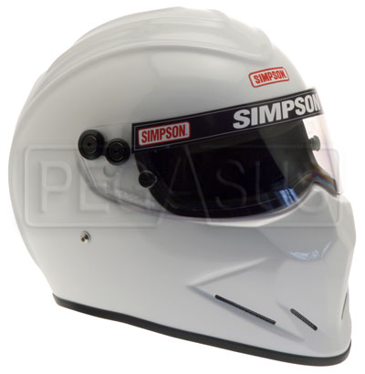 Large photo of Simpson Diamondback Helmet, Snell SA2010 Approved, Pegasus Part No. SIMP429-Size-Color
