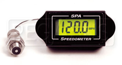 Large photo of SPA Digital Speedometer Kit, Pegasus Part No. SPD111