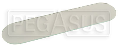 Large photo of Replacement Flat Lens for SPA Center Mirror, Pegasus Part No. SP MM06