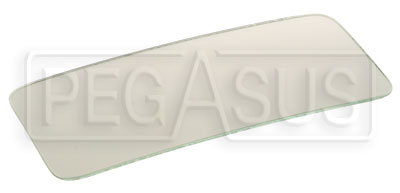 Large photo of Clearance Replacement Convex Lens for SPA GT Mirror, Pegasus Part No. CLSP MM15