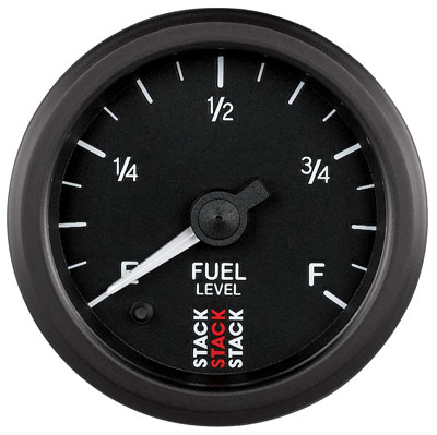 Large photo of Stack Stepper Analog Fuel Level Gauge, Programmable Range, Pegasus Part No. ST3315