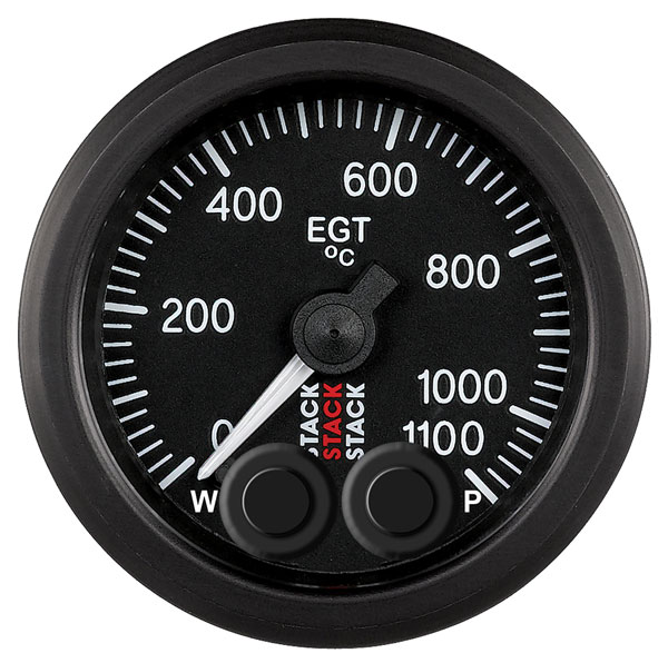 Large photo of Stack Pro-Control EGT Gauge, 0-1100 C, Pegasus Part No. ST3513