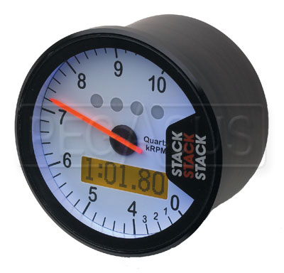 Large photo of Stack ST700M Dash Display Tach with Lap Timing System, Pegasus Part No. ST700M