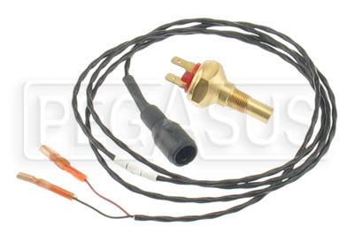 Large photo of Stack 150 C Analog Fluid Temp Sensor & Lead (1/8 NPT), Pegasus Part No. ST764K