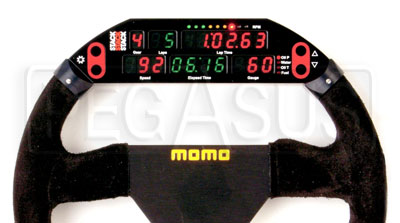 Large photo of Stack 8600M Steering Wheel Display System, specify size, Pegasus Part No. ST8600M