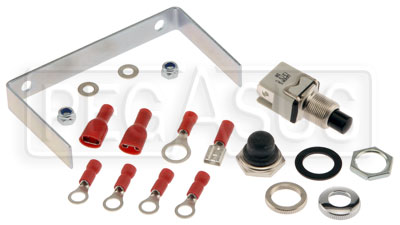 Large photo of Stack Install Kit for Clubman Tachometer, Pegasus Part No. ST913029