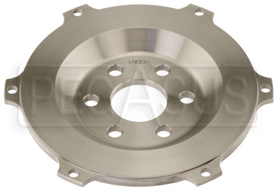 "Large photo of Sonic Button Flywheel for 7.25"" Clutch, Ford Small Block, Pegasus Part No. TE 19008"