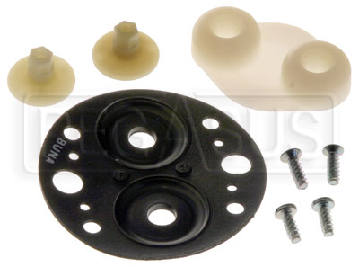 Large photo of Tilton Buna Diaphragm Kit with Pistons for Cooler Pump, Pegasus Part No. TE 40-902