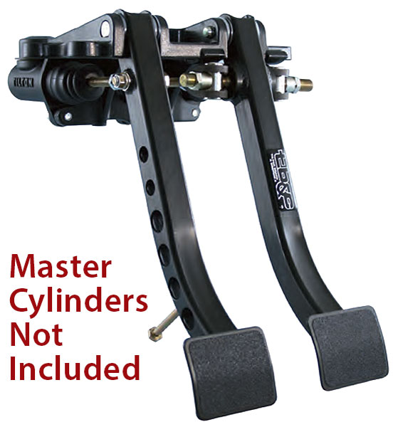 Large photo of Tilton Dual Pedal Asmy 6.2 Ratio, Firewall Mt, Steel, Pegasus Part No. TE 72-601