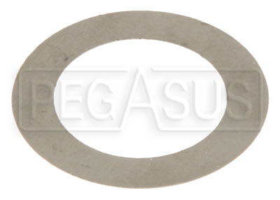 "Large photo of Pressure Seal Shim for 77 Series Master Cylinder, 13/16"", Pegasus Part No. TE 75-063"