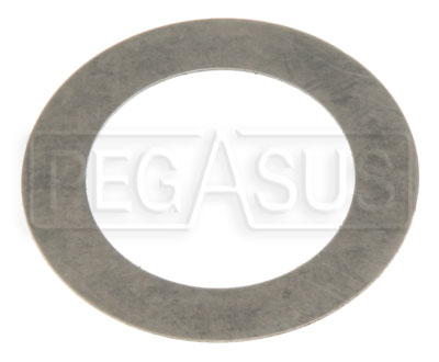 "Large photo of Pressure Seal Shim for 77 Series Master Cylinder, 7/8"", Pegasus Part No. TE 75-064"