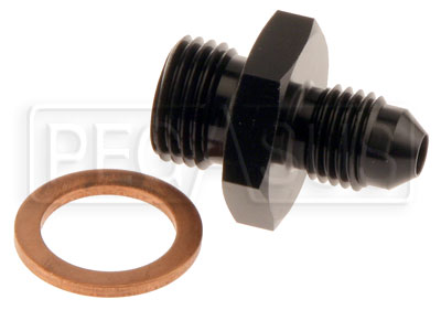 Large photo of Tilton 4AN Inlet Fitting, 77 Series Master Cylinder, Pegasus Part No. TE 77-015