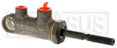 "Large photo of Tilton 77-series Master Cylinder, Pivot Type 7/10"" Bore Size, Pegasus Part No. TE 77-700"