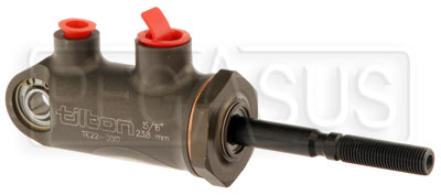 "Large photo of Tilton 77-series Master Cylinder, Pivot Type 15/16"" Bore, Pegasus Part No. TE 77-937"