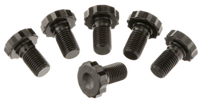 "Large photo of Tilton 12-pt Flywheel Bolt Kit - 7/16-20 x 0.80"", Set of 6, Pegasus Part No. TE 95-975-6"