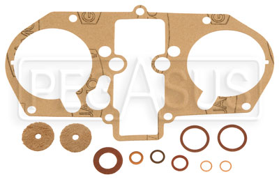 Large photo of Weber Gasket Set for 48 IDA (Dual), Pegasus Part No. WC-92.0034.05