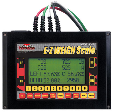 Large photo of Intercomp SW500 E-Z Weigh Cabled Scale System, Pegasus Part No. 170125