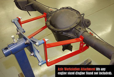 Large photo of Auto Dolly Engine Stand Axle Adapter, Pegasus Part No. 1860-513