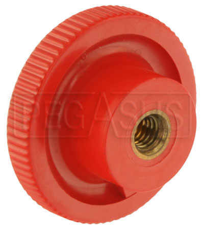 Large photo of Push Button for Mechanical Safety Systems Fire Bottle, Pegasus Part No. 2058-001