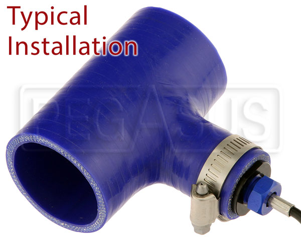 Large photo of 1 inch Aluminum Hose Plug with 5/8-18 Female Port, Pegasus Part No. 3228-111