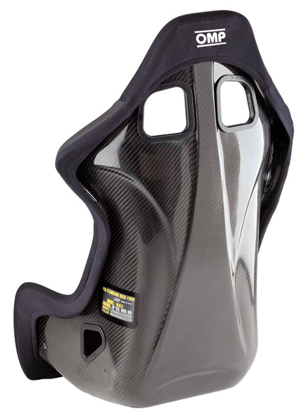 Large photo of (SL) OMP WRC-R Carbon Racing Seat, Pegasus Part No. 3454-769