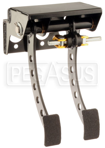 Large photo of OBP Firewall Mount 2-Pedal Assembly, w/o MC, Pegasus Part No. 3537-082
