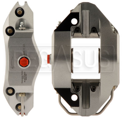 Large photo of PFC ZR55 Aluminum Caliper, Front (Trailing), Left, Pegasus Part No. 3552-503