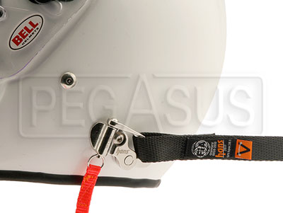 "Large photo of HANS VA Plus Sliding Tether Kit (18""), QC Anchors, Pegasus Part No. 9580-204"