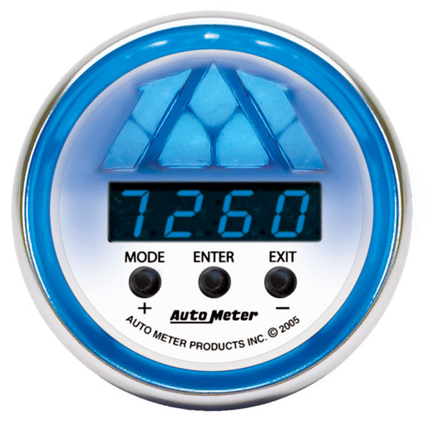 Large photo of Auto Meter C2 Digital Pro Shift Light Gauge, Level 2, Pegasus Part No. AM7188