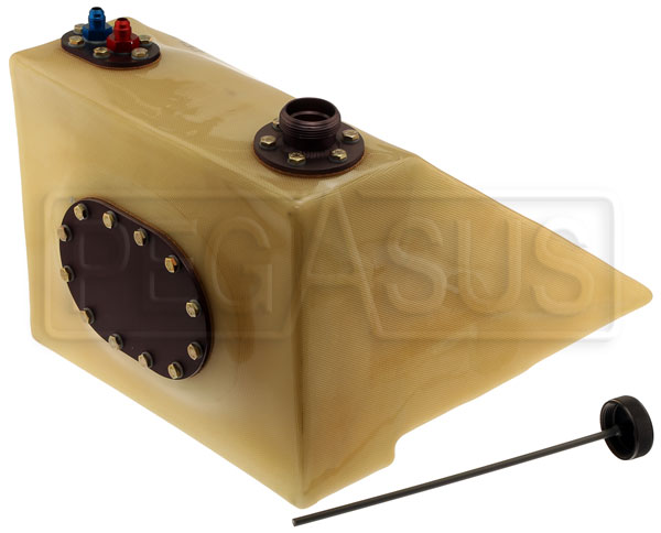 Large photo of Fuel Safe 6 Gallon Reynard FF/FC Pro Cell, Right Filler, Pegasus Part No. FS CB300