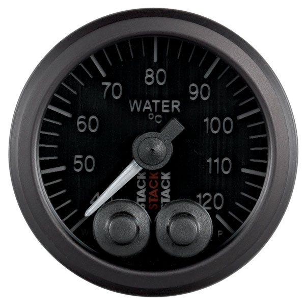 Large photo of Stack Pro-Control Water Temperature Gauge, 40-120 C, Pegasus Part No. ST3507