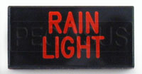 Dash Badge Identification Plate (Rain Light)