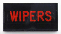 Dash Badge Identification Plate (Wipers)