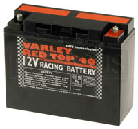 (B) Varley Red Top 40 Battery, 39AH