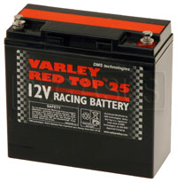 (B) Varley Red Top 25 Battery, 20AH