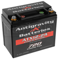 (LI) Antigravity 12v Lithium YTX12 Battery, 24 Cell, Left