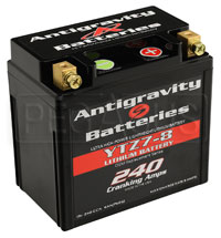 (LI) Antigravity 12v Lithium YTZ7 OEM Case Battery, 8 Cell
