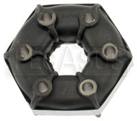 Rubber Donut Drive Axle Coupling, Standard