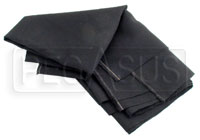 Nomex Material, Black, 60 inch wide (per linear foot)