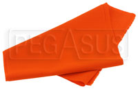 Nomex Material, Orange, 60 inch wide (per linear foot)