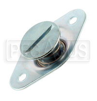 Self-Eject 1/4 Turn Stud Assembly, 5/16 Dia x 0.52 Length