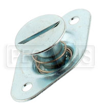 Self-Eject 1/4 Turn Stud Assembly, 5/16 Dia x 0.62 Length
