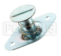 Self-Eject 1/4 Turn Stud Assembly, 5/16 Dia x 0.82 Length