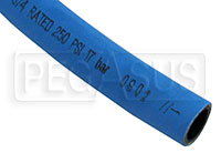 Textile Reinforced High Temperature Hose, Blue