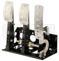 OBP Pro-Race V2 3-Pedal Box, Floor Mount, without MC