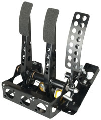 OBP Track Pro Steel 3-Pedal Box w/o MC, Universal Fitment