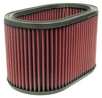 K&N Filter Element, Large Oval  (5.5 W x 9 L x 5.50 H)