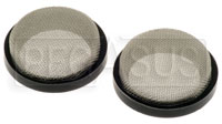 "Custom Velocity Stack Filters - 70mm (2.75"") Diameter - pair"