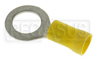 "Terminal, 12-10 Gauge Yellow - 3/8""  Ring"